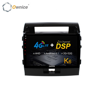 Ownice Touch Screen DVD Car TV USB Media Player For Toyota Land Cruiser