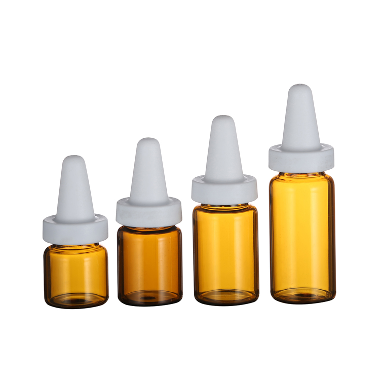 4ml 5ml 7ml 10ml cheap price amber glass bottle pharmaceutical vials with tip top cap
