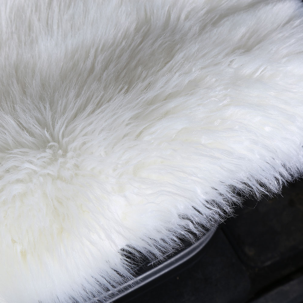 Super September ready to ship  wholesale Wholesale Fashion long fur wool car seat covers for winter