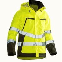 High Quality Waterproof Hi Vis Winter Safety Jacket