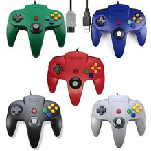 USB Wired Gaming Joystick Voor N64 Gamepad Controller Game Pad PC Controller Voor N64 Accessoires
