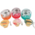 2019 Popular New Design TPR Soft Simulated Japanese Takoyaki Jelly fish  Keychain Gashapon Japan capsule toys