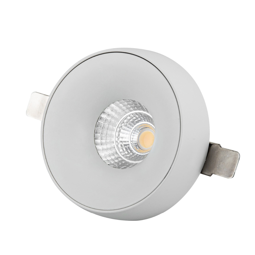 5W 7W smart ceilling led downlight spot lights led recessed tuya spotlight downlight dim to warm down light