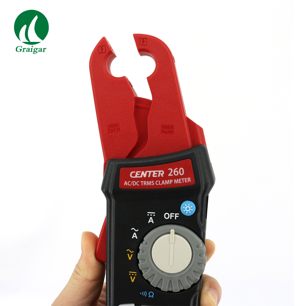 CENTER-260 True RMS AC/DC 1mA Stable Clamp Meter Center260