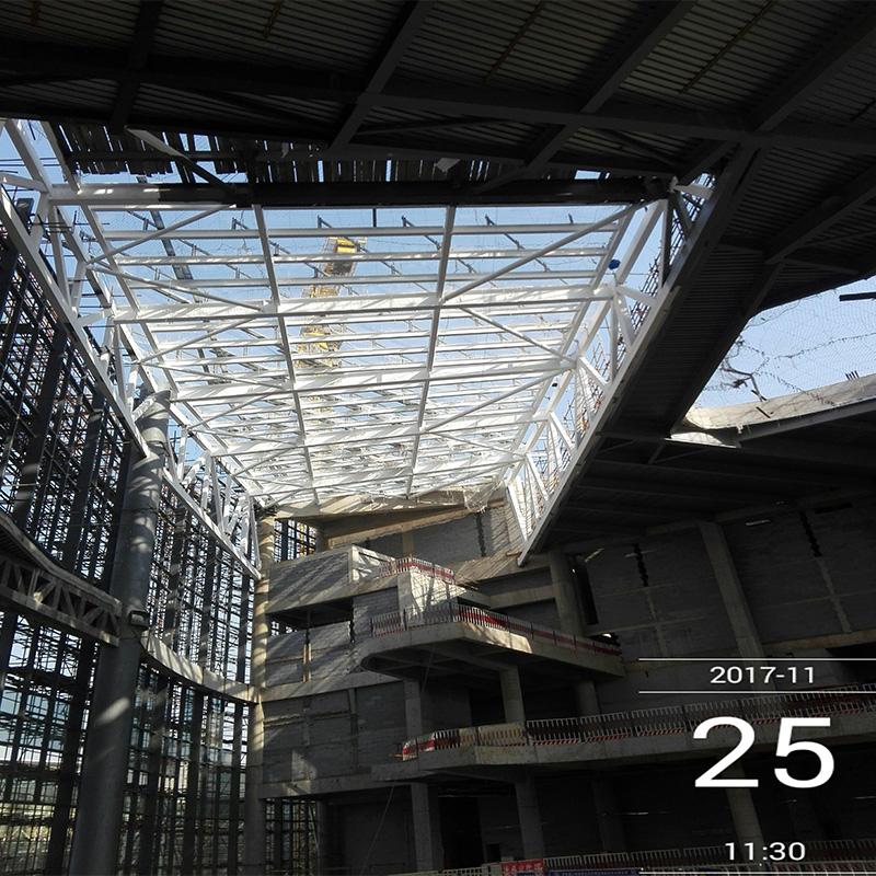 솔리드 빠른 조립 조립식된 고품질 스틸 구조 철도역 저비용 건물