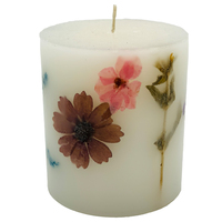 Handmade Floral Festival Wedding Custom Art Scented Candle For Home Decor