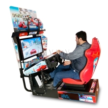 2020 Factory Heet Verkoop Muntautomaat <span class=keywords><strong>Auto</strong></span> Racing <span class=keywords><strong>Simulator</strong></span> Video Games