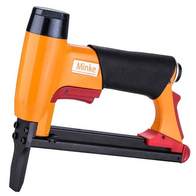 color: tipo 2 POQAQ 8016LN Pistola grapadora de aire de punta larga de alambre fino tipo BEA clavadora de gas neum/ática tipo U