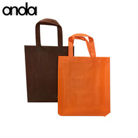 Wholesale Custom Printed Eco Friendly Recycled Reusable Laminated Non Woven fabric Tote Shopping Bag