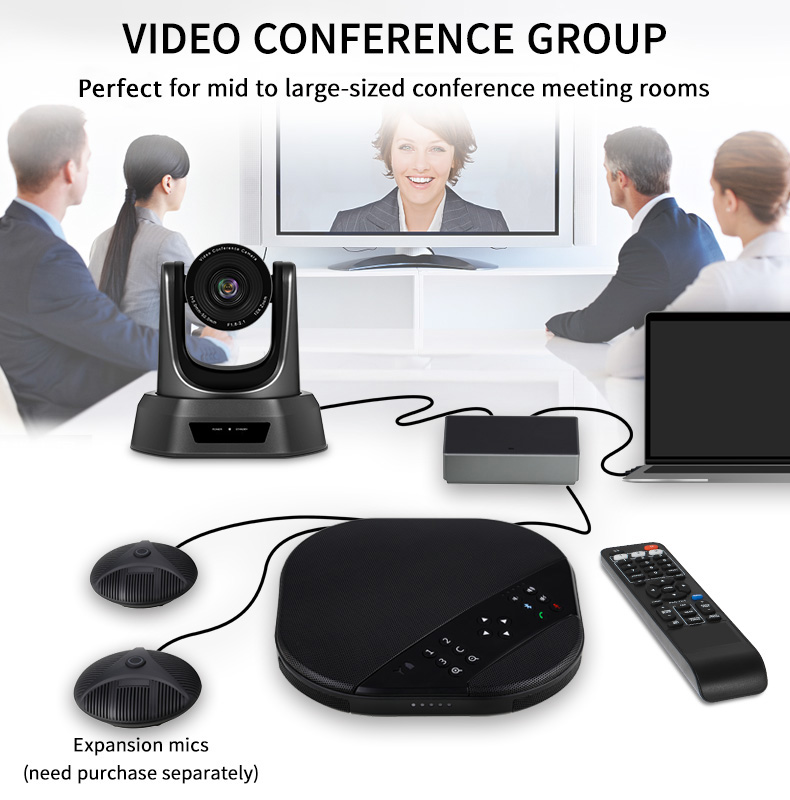 Video Conference Kit with 10X Zoom