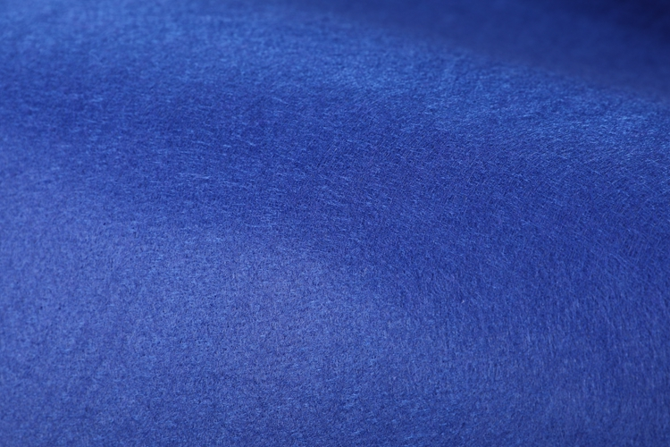 Dyed collar interlining or soft bag use non woven polyester needle punch felt nonwoven fabric