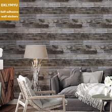 Водостойкие и маслостойкие ПВХ деревянные обои для кухни Шкаф Дверь мебель для домашнего офиса Декор стикер стены(Китай)
