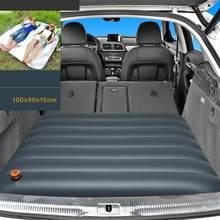 Надувной матрас для сиденья Colchon Luftmatratze аксессуары для авто аксессуары для кемпинга Araba Aksesuar дорожная кровать для внедорожника(Китай)
