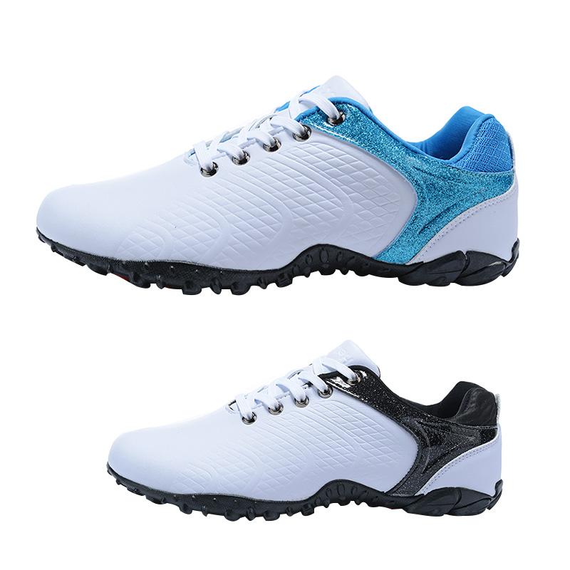 ขายส่งสไตล์ใหม่สีขาวกีฬากลางแจ้งยาง SPIKE กอล์ฟรองเท้าสำหรับชายรองเท้ากอล์ฟ