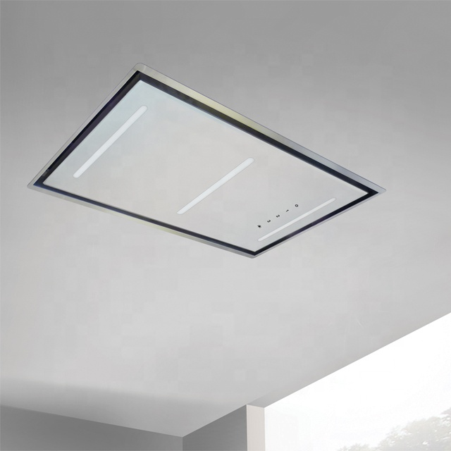 CE CB GS ERP Ceiling hood lateral ducting range hood