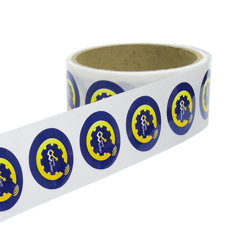 Writable Printable Cheap RFID Paper NFC Tag Rolls Price