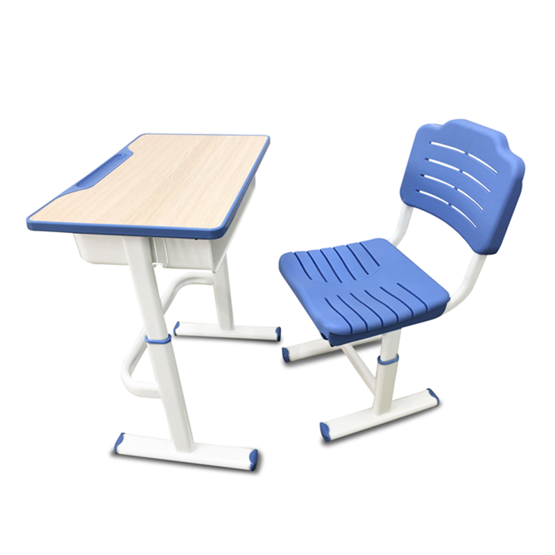 Set School Students Study Table Desks Chairs Furniture Classrooms Children Student Desk And Chair