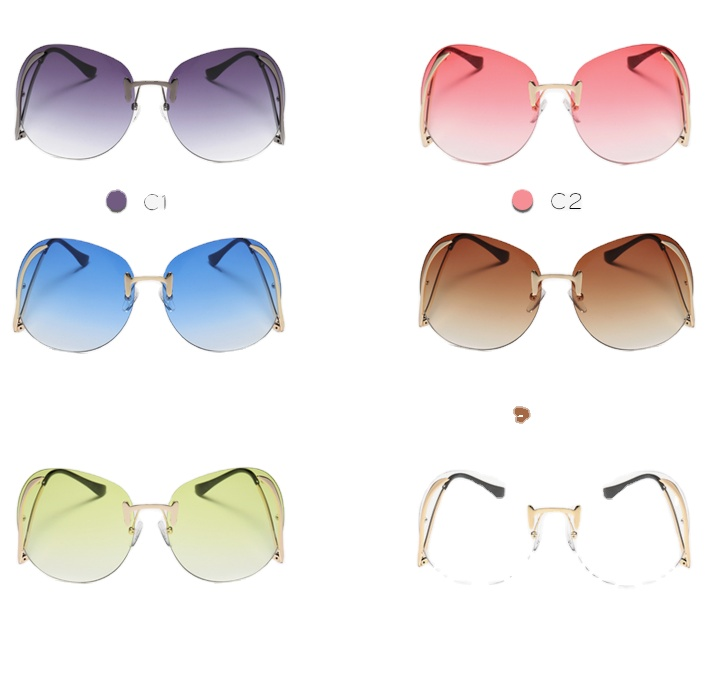 2020 Newest Trendy Fashion Men Women Oversized Shades Sunglasses