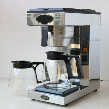 Wholesale double-head semi-automatic drip/distillation coffee machine