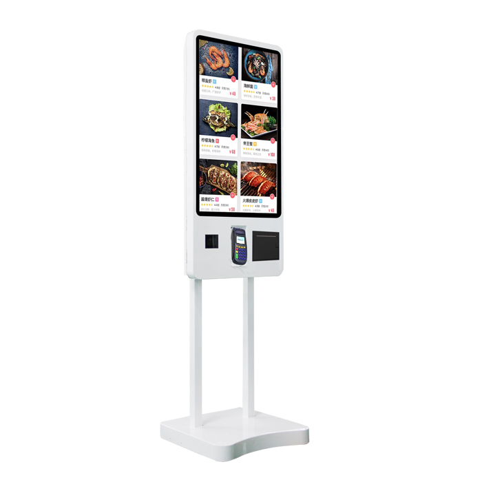 43inch wholesale price Floor Standing LCD Touch Screen digital Signage Online <strong>Payment</strong> and Ordering Kiosk