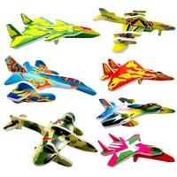 Paper plane educational toys puzzle 3d mini puzzle for kids