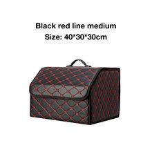Автомобильный органайзер для багажника, сумка для хранения, автоматическая сумка для мусора, сумка для инструментов из искусственной кожи, ...(Китай)