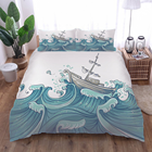 Bedding Cotton Cottoncotton Amazon Hot Sell Customized Printed Bedding Set Cotton Duvet Cover Set With 3 Piece :1 Duvet Cover No Comforter 2 Pillowcase