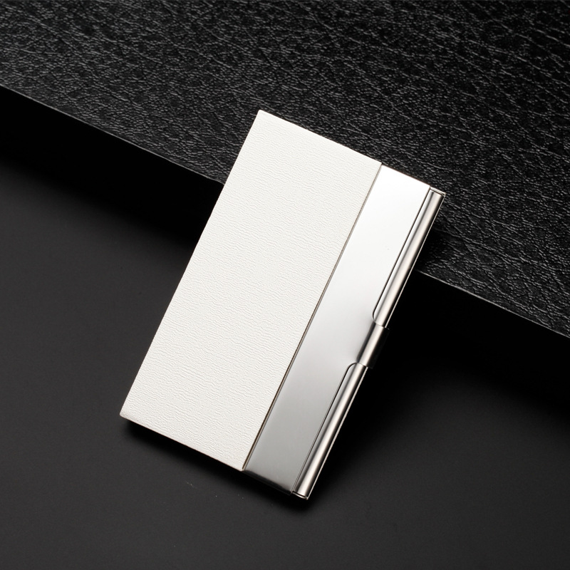 New Fashion card holder high quality leather card holder company gift