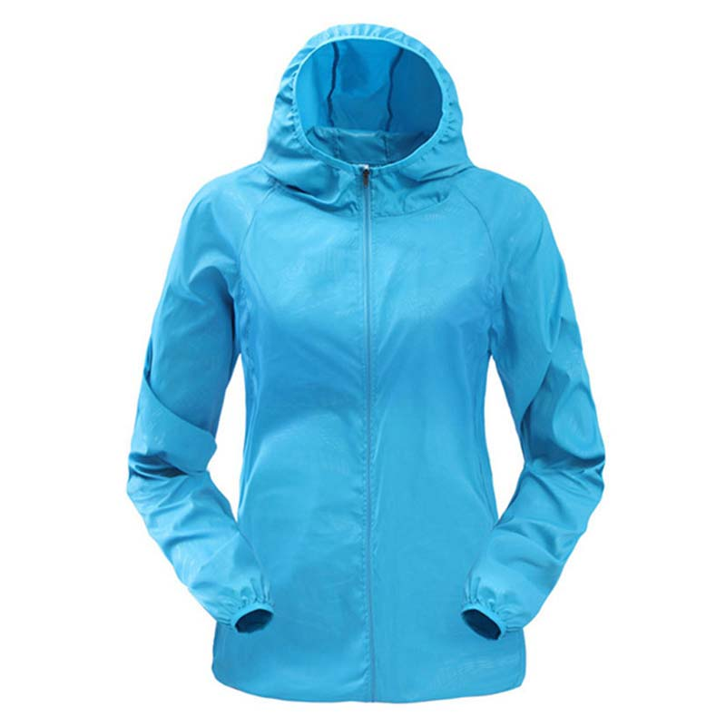 TOP hot fashionable Windproof Ultra-Light jacket Running Sportswear Coat comfortable fabric hooded