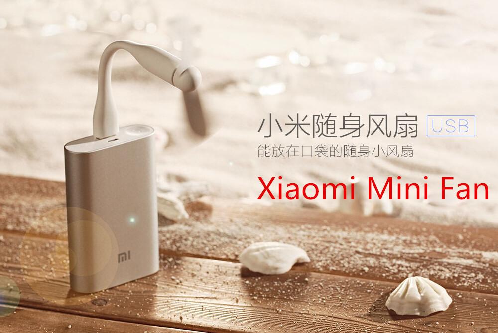 Xiaomi Mijia USB Fan Flexible USB Portable Mini Fan For Power Bank&Notebook&Laptop&Computer Power-saving