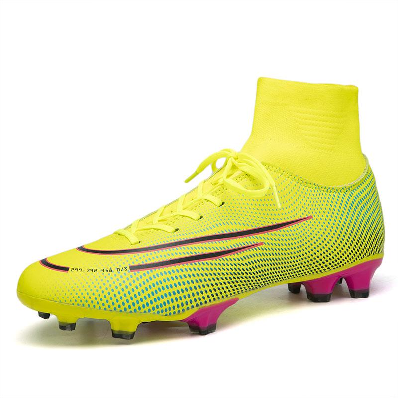 Поставка с завода YL, уличные футбольные шипы, высокие носки, уход за лодыжкой, производительность, футбольные шипы