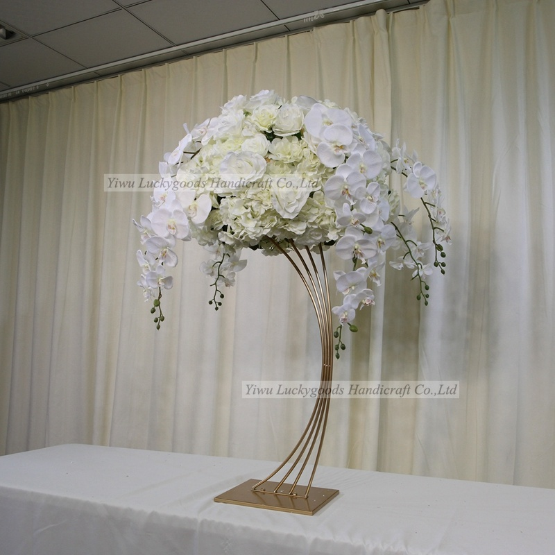 LFB1607-1 artificial  wedding variety flowers table runner decorations