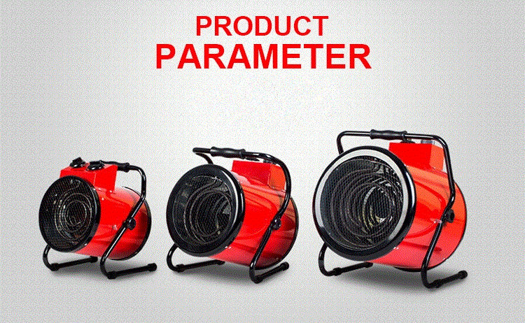 Industrial Hot Air Blower Electric Fan Heater electric industry fan heater