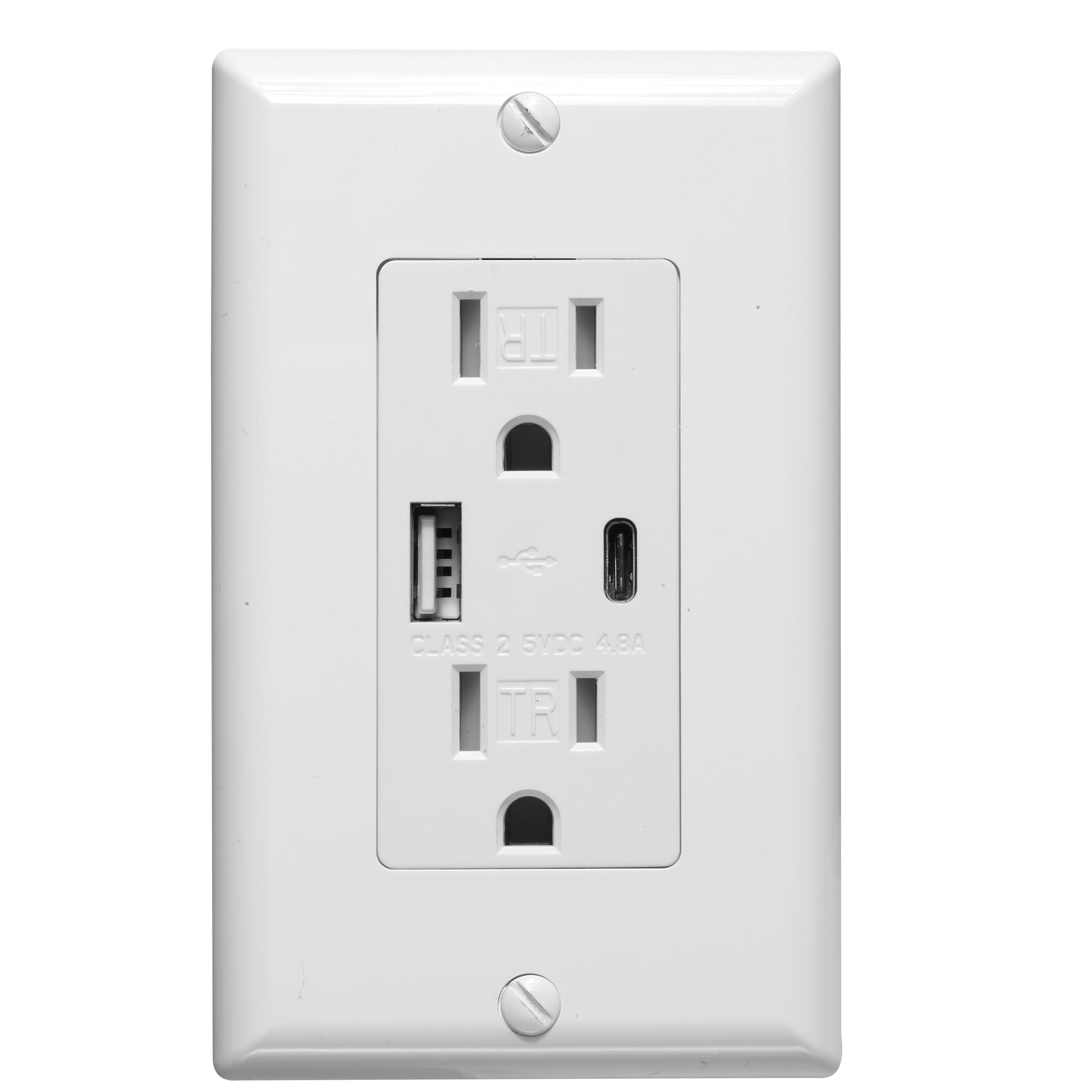 Großhandel Hochgeschwindigkeits-Kinder Fingers chutz USB-Steckdosen elektrisches Ladegerät Wand steckdose mit Typ C-Anschluss
