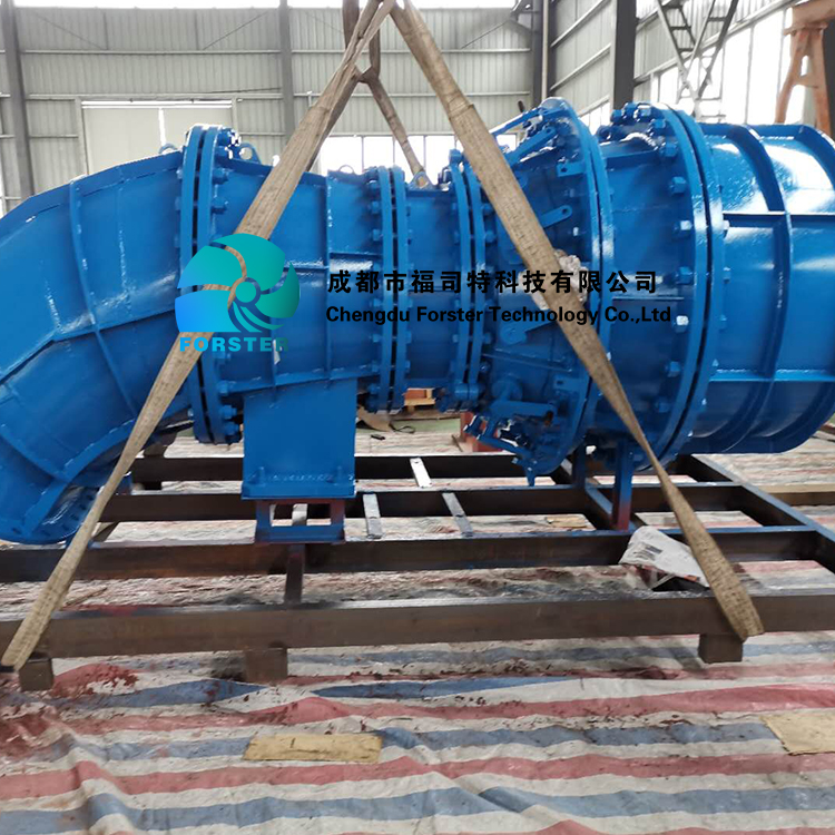 Dual Nozzle Flow Control Automation System Water Head 200m-500m 300kw-1600kw Pelton Turbine For Hydro Power Plant