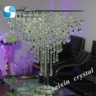 ZT-278 Bling wedding decoration crystal cake table
