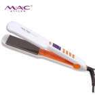 Popular Hair Straightener Titanium plate white Professional salon hair straightener be gorgeous hair straightener