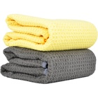 Warp Knitted Customized Promotional Fabric Quickly Drying Sports Car Wash Towels For Car