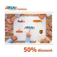 DHL,UPS,FEXDEX express delivery cheap express rate from China to saudi arabia drop shipping