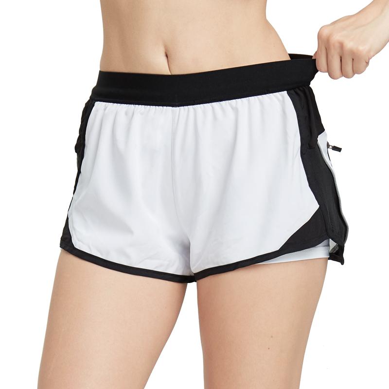 Commercio all'ingrosso Quick Dry OEM Su Ordinazione Delle Donne di Fitness In Esecuzione di Yoga Bicchierini Tessuti