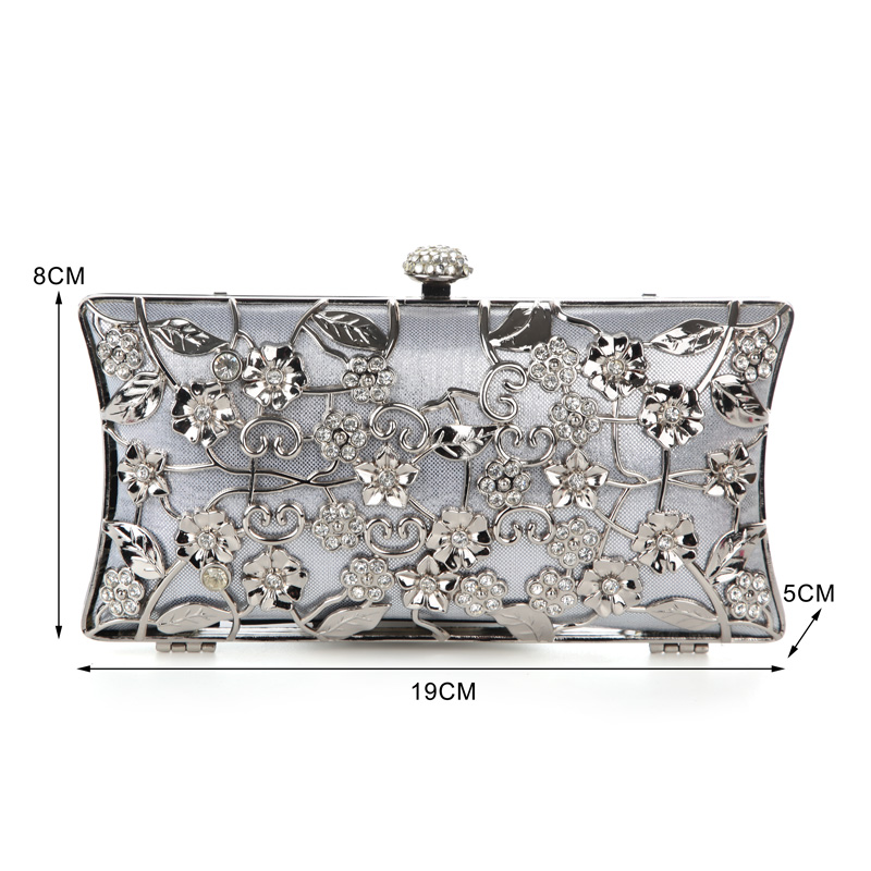 Роскошный Золотой клатч с Луной, Женская сумочка, Свадебный клатч, сумочка с кристаллами, роскошная женская сумочка, модный кошелек на кажды...(Китай)