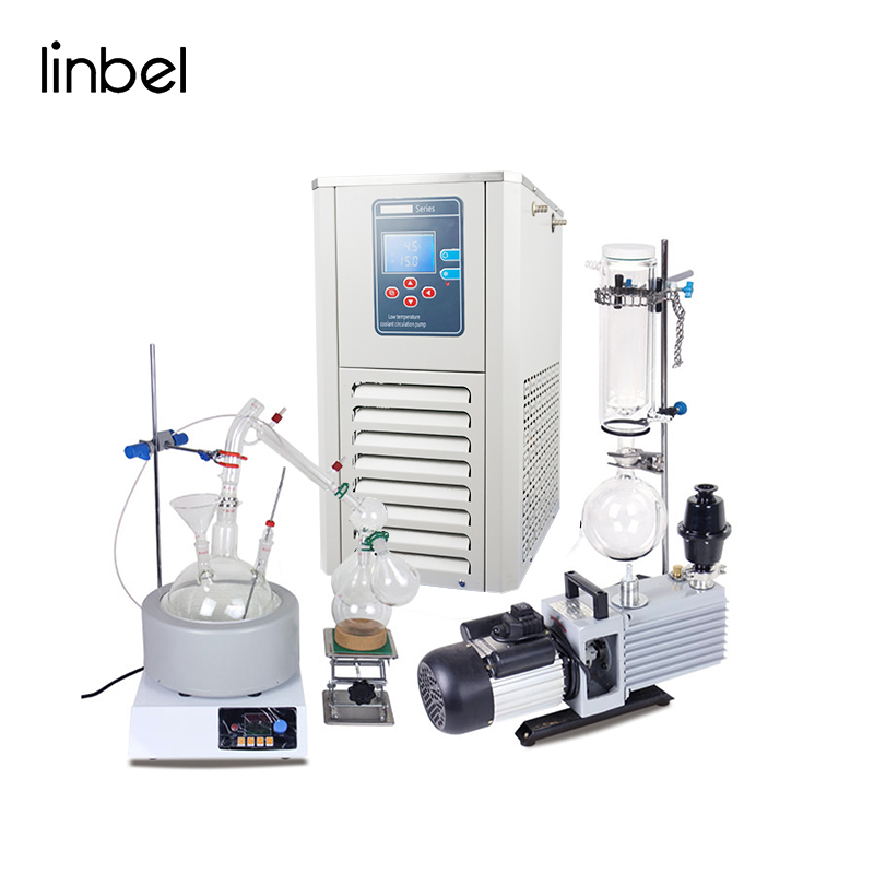 Linbel Short Path Distillation Unit Short Path Evaporator 5l Short Path Distillation kit