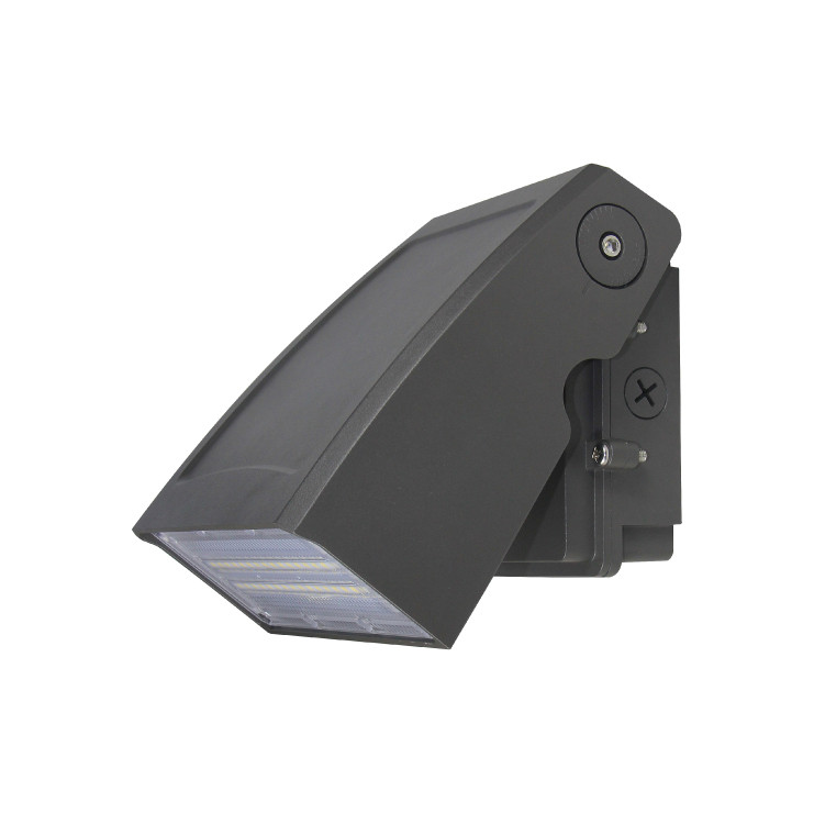 0-90 Beam Angle 120lm/ W 5000K Photocell Commercial Wall Mount LED Exterior Wall Pack Light 100W
