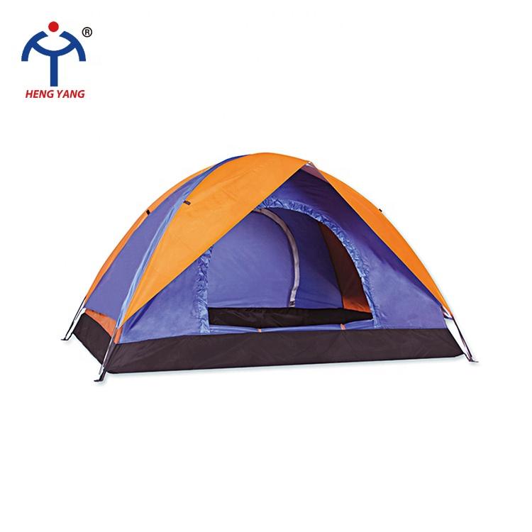 مواد متفوقة مهارة تصنيع ناعما دائم 3 أشخاص خيمة تخييم عائلية