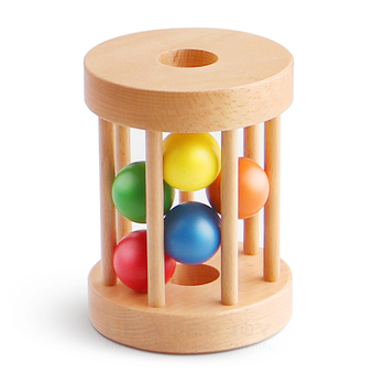 Wooden Baby Toys,Rolling Drum Montessori Wooden Toys,Sale Baby Toys Educational