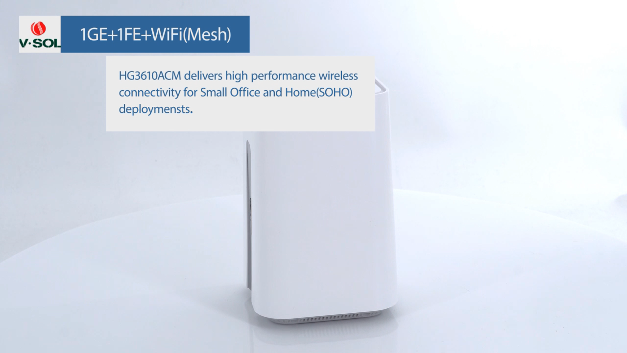 VSOL HG3610ACM Wireless WiFi Router AC1200 High-Gain Dual Band 2.4G/5G 802.11AC Auto Adaptive Ethernet antarmuka Router