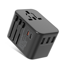 Listrik Plug Socket Double Tipe C 33.5W PD Cepat Charger <span class=keywords><strong>Usb</strong></span> Adaptor Universal Travel Adaptor