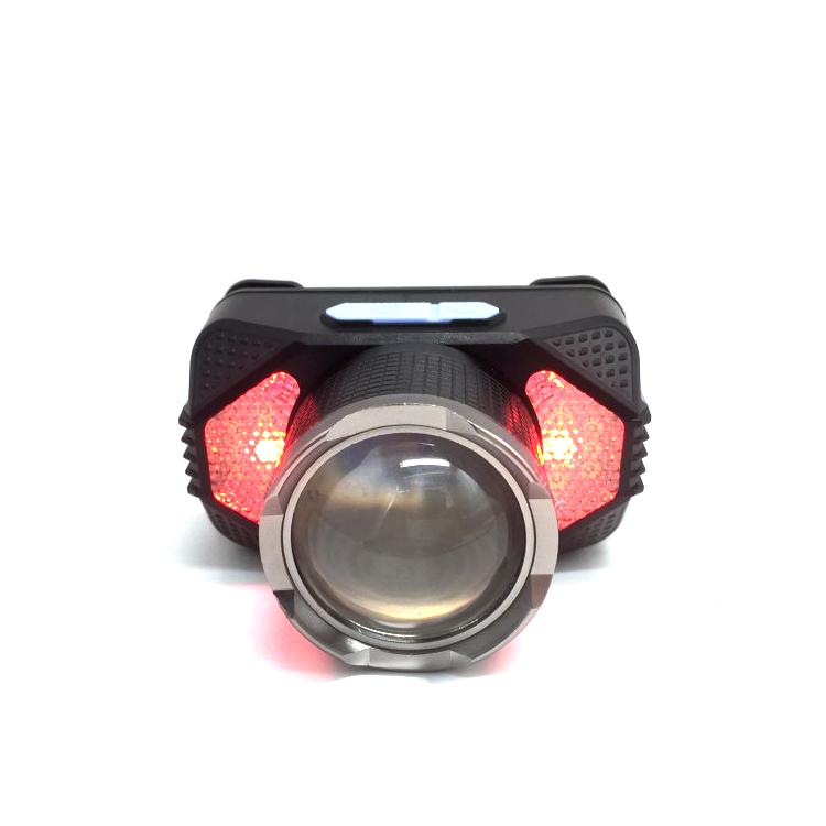 Rechargeable Headlamp 5000 Lumen Most Powerful Head Lights Oem Ewtto Faro Recargable Motion Sensor Light