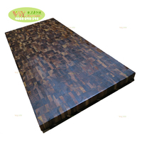 High Grade Oiled Black Walnut Worktops 1500x620x38mm Wooden Walnut Table Top