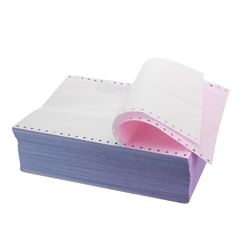 Cheapest Wholesale Computer Paper Computer Forms Printing Best Price Blank Printed 3ply Carbonless Computer Continuous Paper